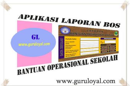 Aplikasi Pembuatan Laporan BOS (Bantuan Operasional Sekolah)