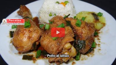 Receta de Pollo al sillao   Un plato típico de la cocina Peruana, una receta muy sabrosa sencilla y fácil de preparar.