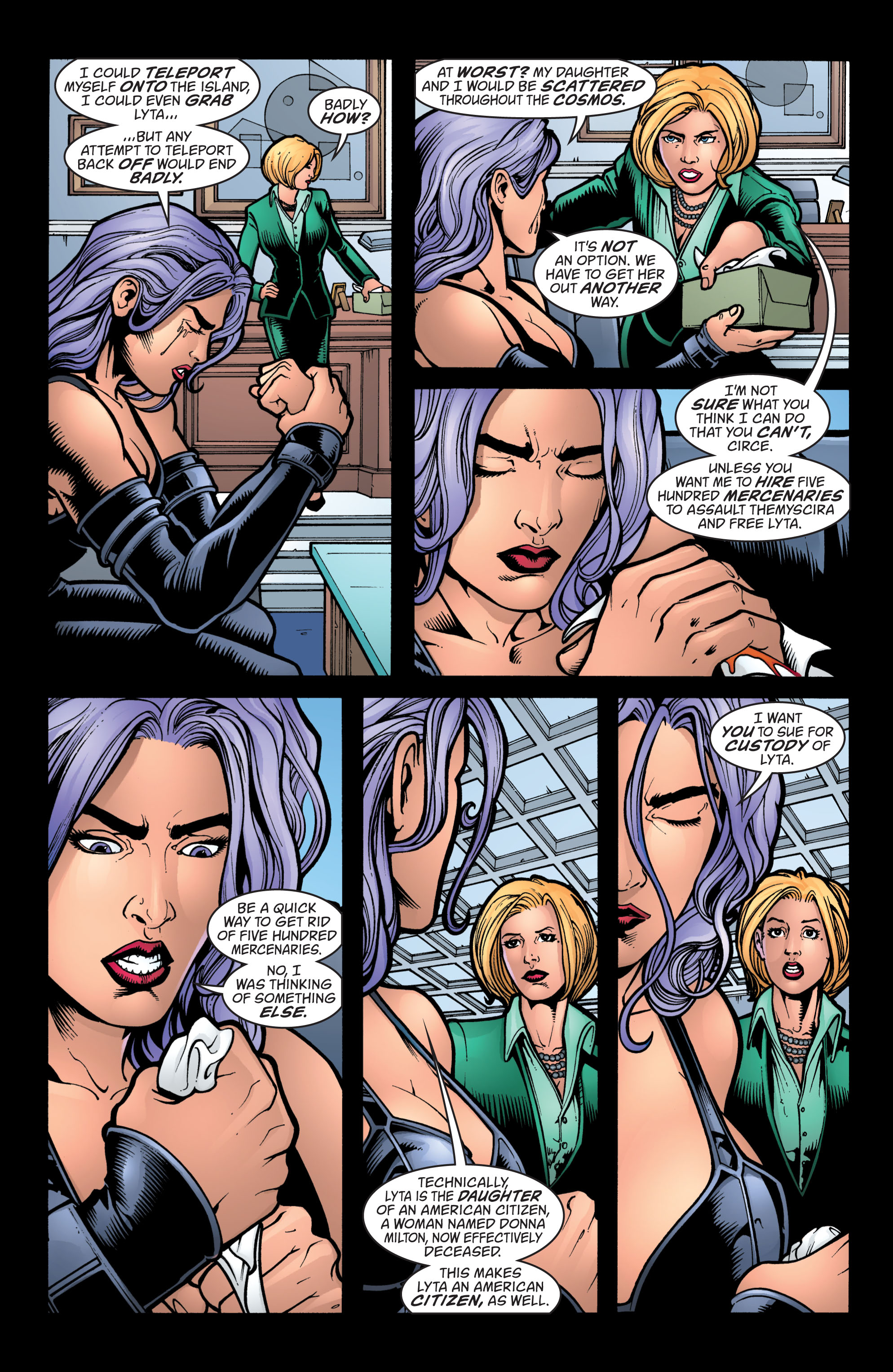 Read online Wonder Woman (1987) comic -  Issue #212 - 19
