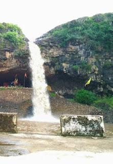Nevsa Waterfall Dindori , nevsa waterfaal