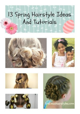 13 easter hairstyles and tutorials