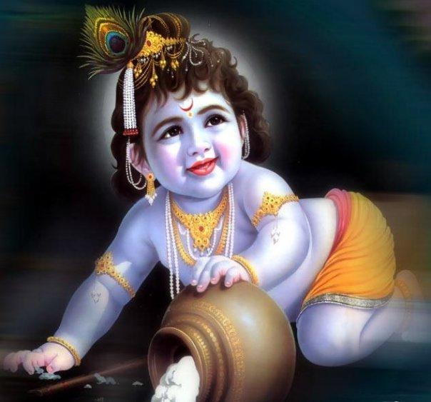 Baby Krishna Pictures Gallery   Hindu Devotional Blog