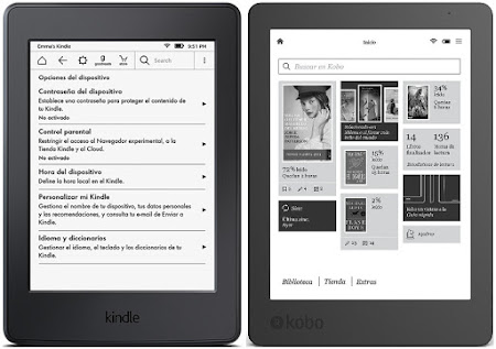 Amazon Kindle Paperwhite vs Kobo Aura Edition 2