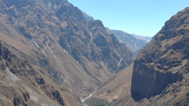 Colca Canyon gorge