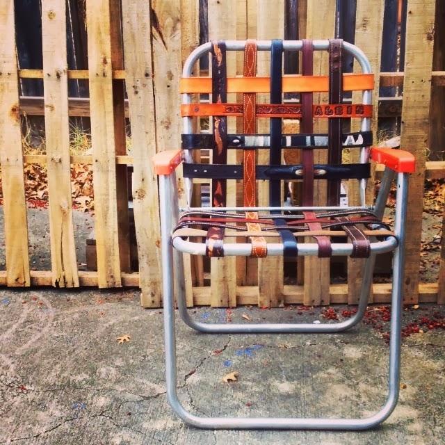 Kikithespunkymunky New Upcycled Lawnchairs Sunbeam