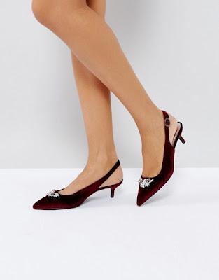 zapatos rojos de tacon