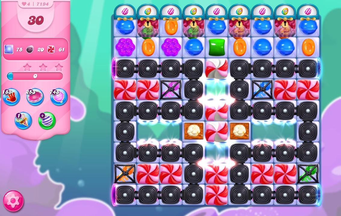 Candy Crush Saga level 7194