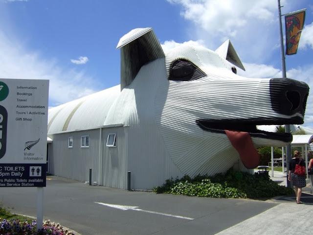 Rumah lucu model anjing