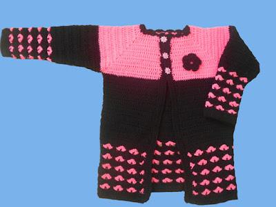 crochet-crosia-Crochet-Heart-Stitch-Cardigan-handwarmer-design-pattern-free-tutorial-picture-step by step-handmade-video