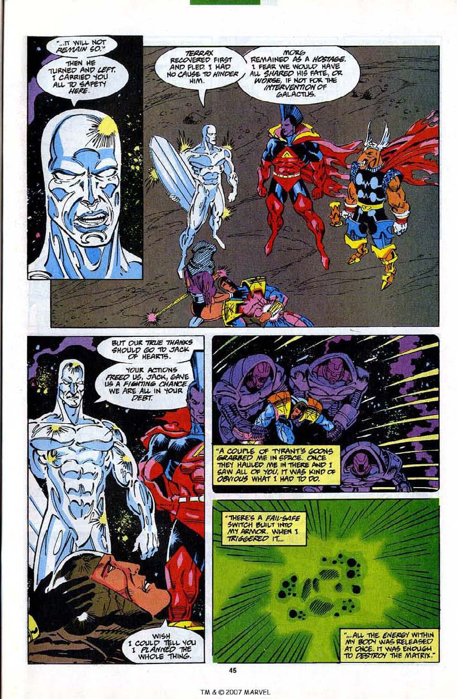 Read online Silver Surfer (1987) comic -  Issue #82 - 47