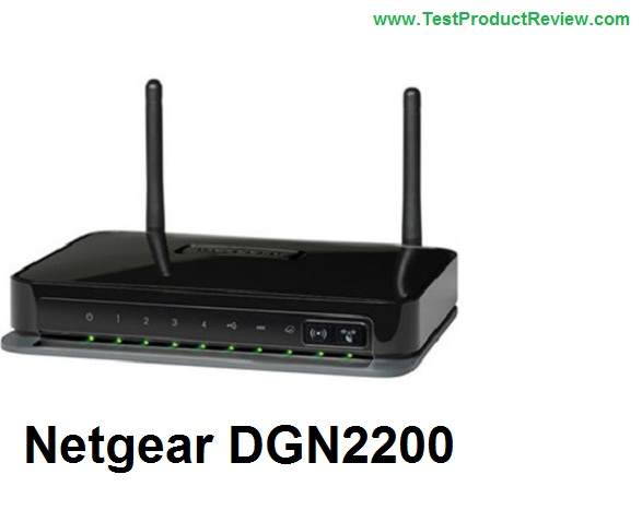 Netgear DGN2200 wireless router