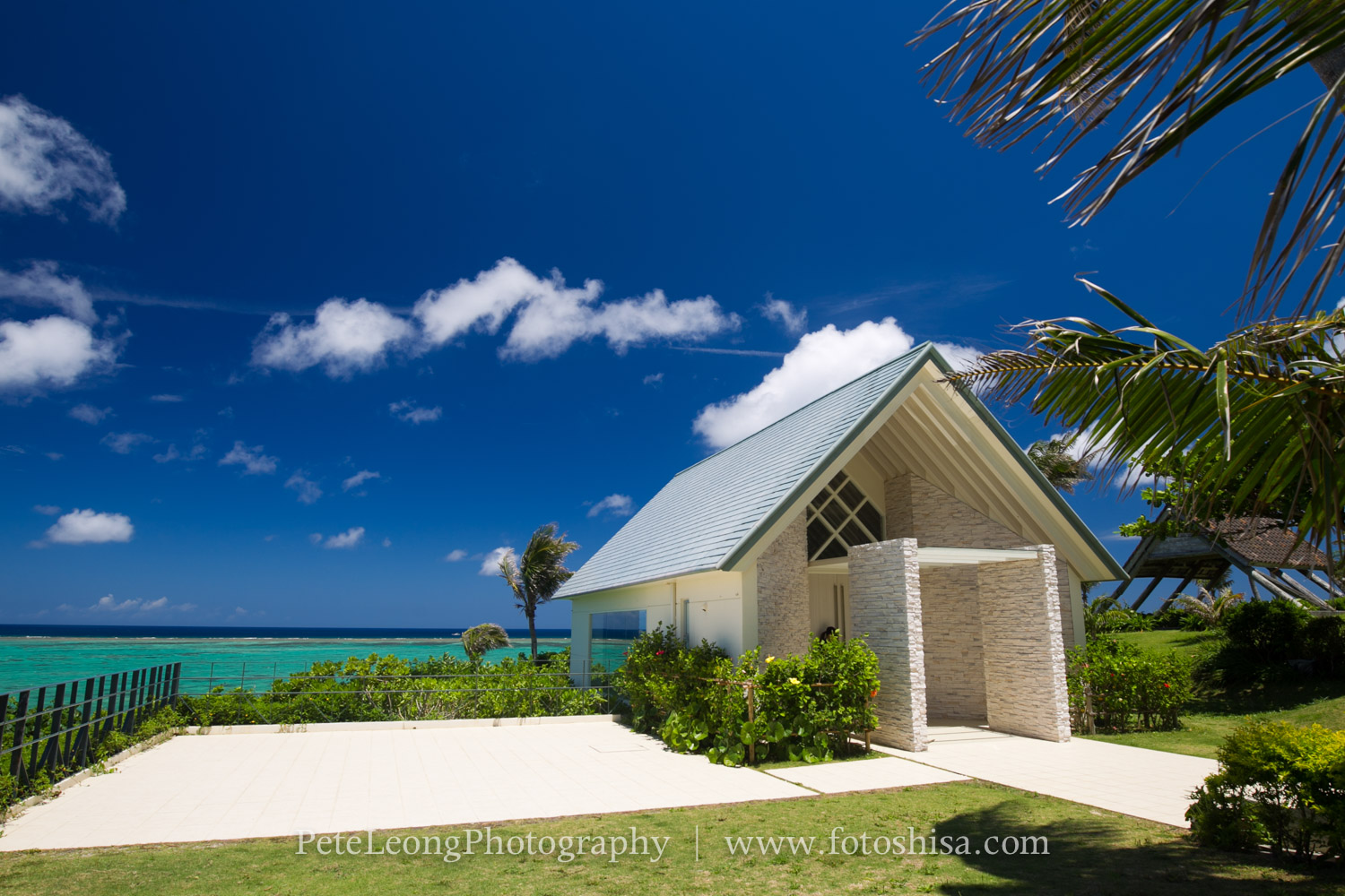 Im Hy To Offer Pre Wedding Photo Packages At The Resort Chapel Below Located In Moon Beach Onna Village Also Has An Awesome