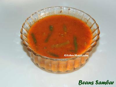 Beans+Sambar