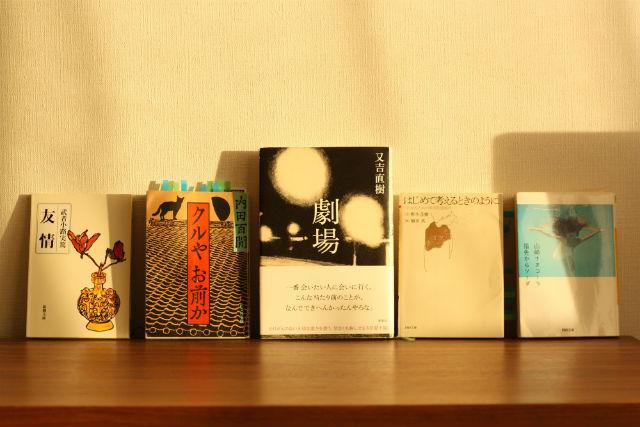 2017年のおもしろかった本。山崎ナオコーラ『指先からソーダ』。又吉直樹『劇場』。野矢茂樹『はじめて考えるときのように』。内田百閒『クルやお前か』。武者小路実篤『友情』