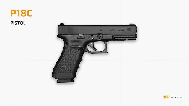 P18C – PUBG مسدس P18C a gun