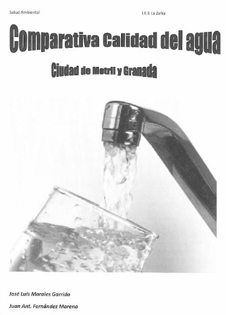 Aguas potables de Motril y Granada.