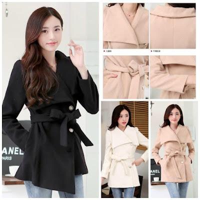 Jaket korea style untuk wanita