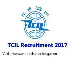 TCIL job notification 2017