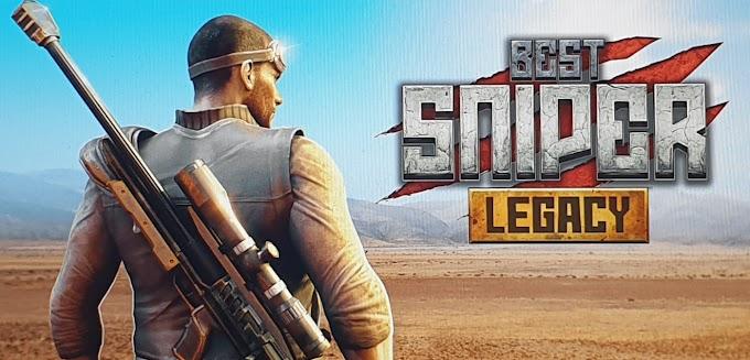 Best Sniper Legacy  Dino Hunt  Shooter 3D v1.06.3 MOD APK Süper Hileli Mayıs 2019