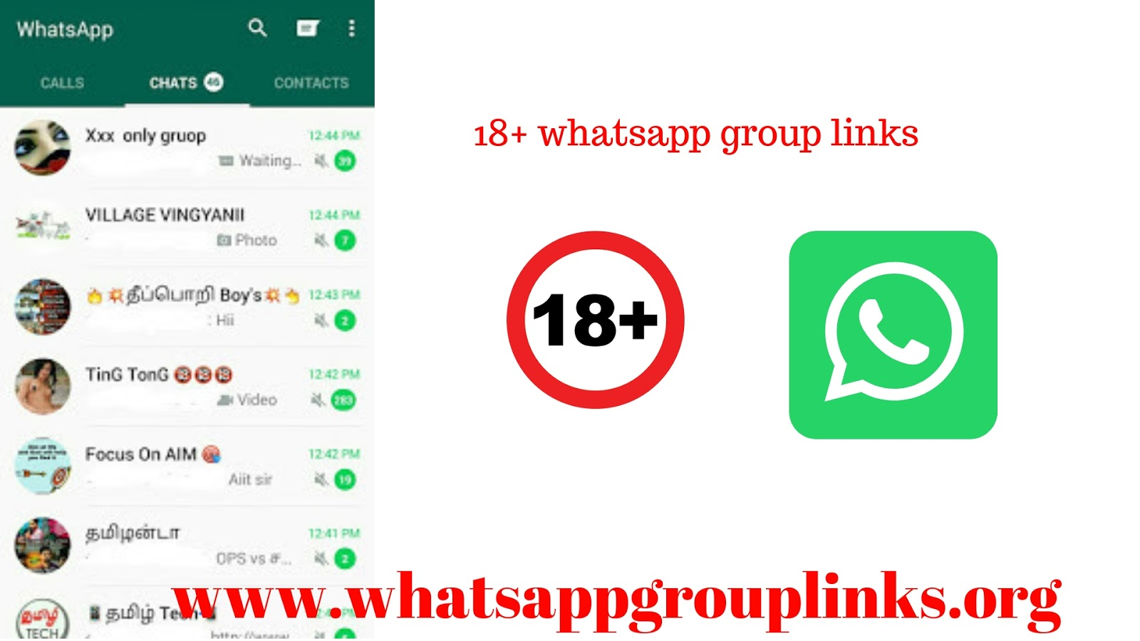 18+ whatsapp group links: join 300+ whatsapp group link 18+ list