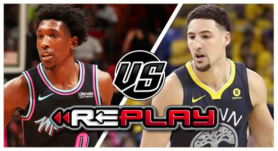 Video Playlist: Miami Heat vs Golden State Warriors Game Replay 2018-2019 NBA Season
