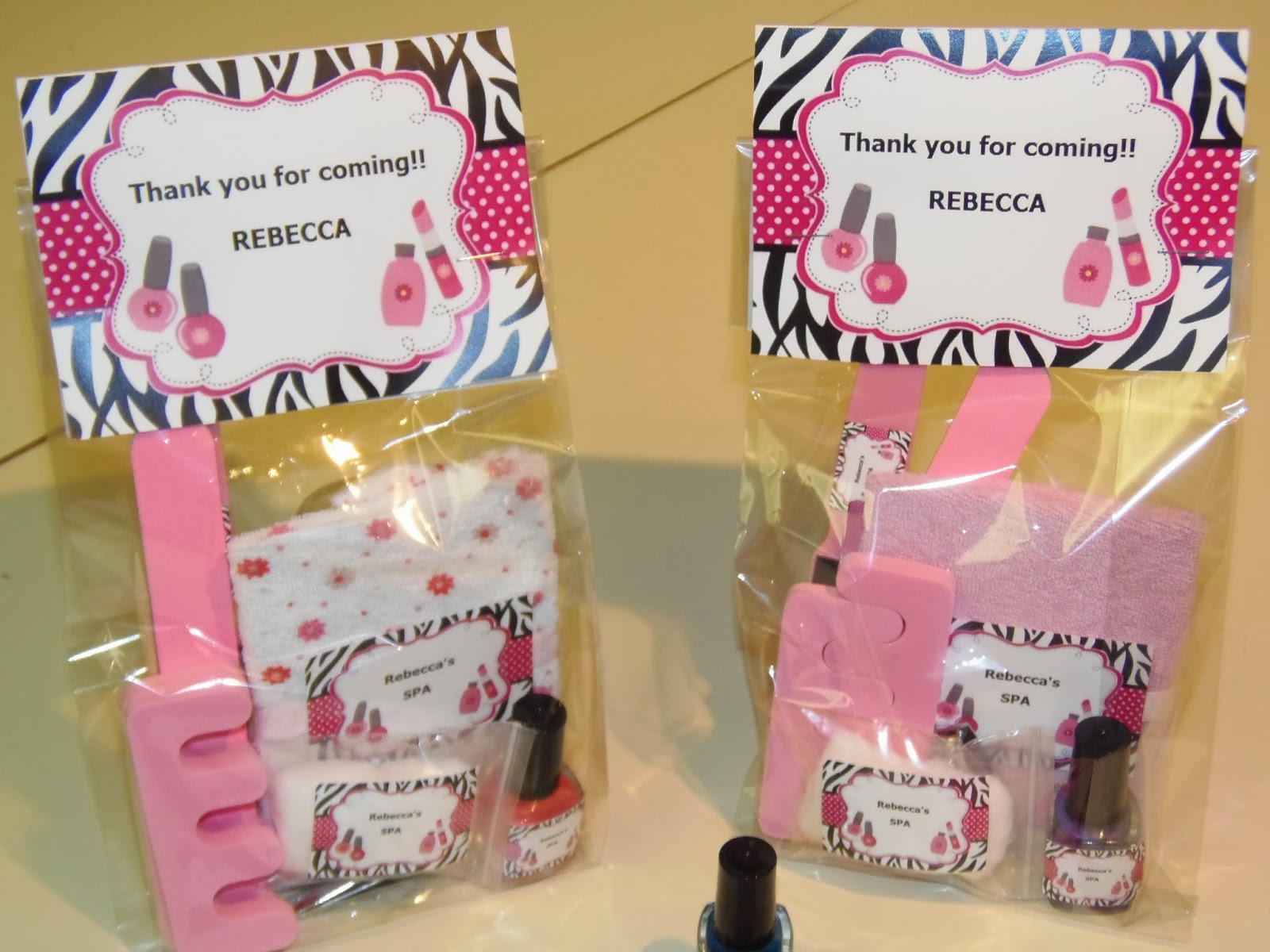 Dreams Factory Teen Themed Goody Bags Spa Kit