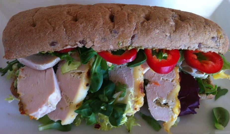 Charlottes Madblog: Sund kyllingesandwich