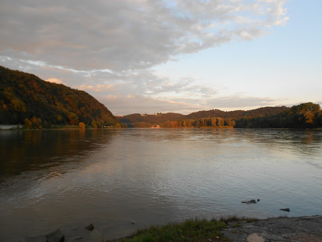 Danube (Donau) at Passau