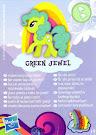 MLP Wave 9 Green Jewel Blind Bag Card
