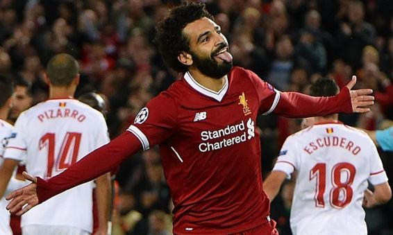 Mohamed Salah is Africa's best player for 2017