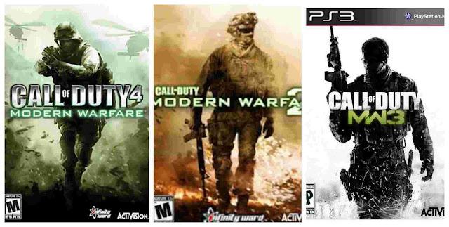 sugestões de jogos fps : call of duty