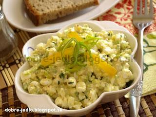 Vajíčkový fitness šalát - recepty