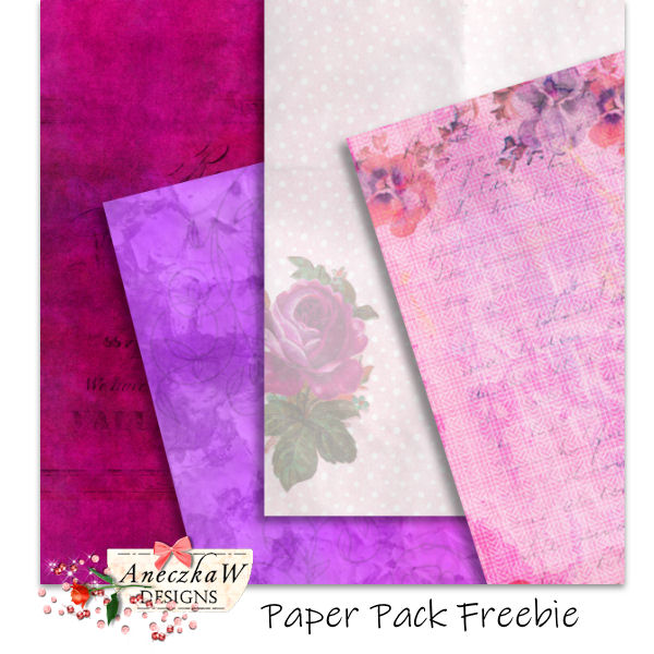 3 new Scrapbooking Freebies !