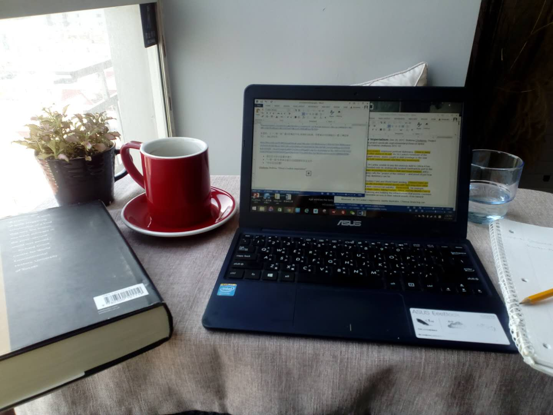 Dissertation writing process