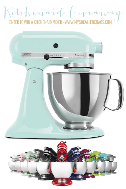 A KitchenAid Stand Mixer Holiday Giveaway!