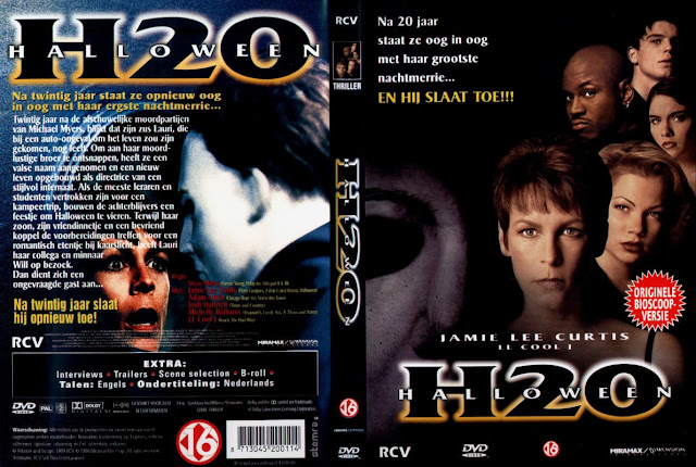 netherlands dvd cover - Halloween H20 Theme