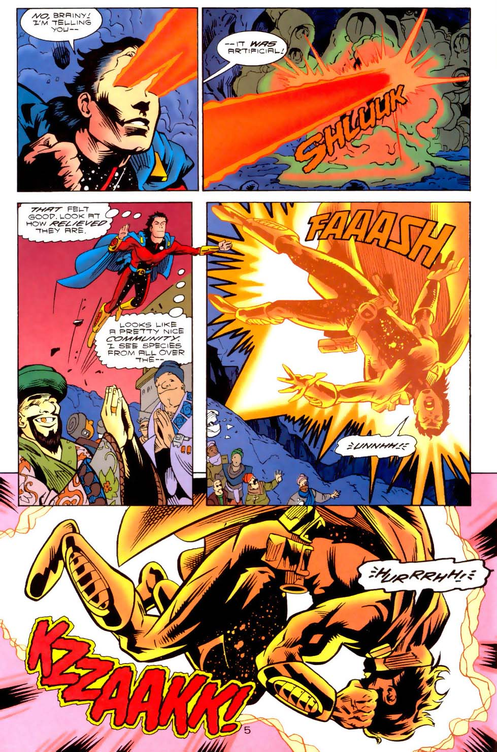 Legion of Super-Heroes (1989) 111 Page 5