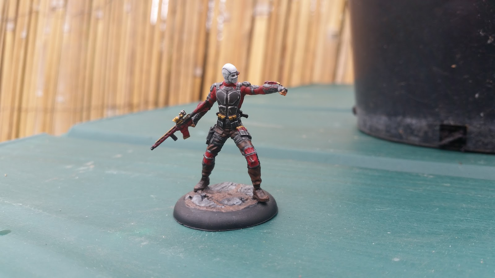 Brummie's Wargaming Blog: Batman Miniature Game Deadshot
