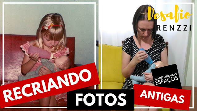 Recriando Fotos Antigas Tumbrl | 3º Desafio Renzzi