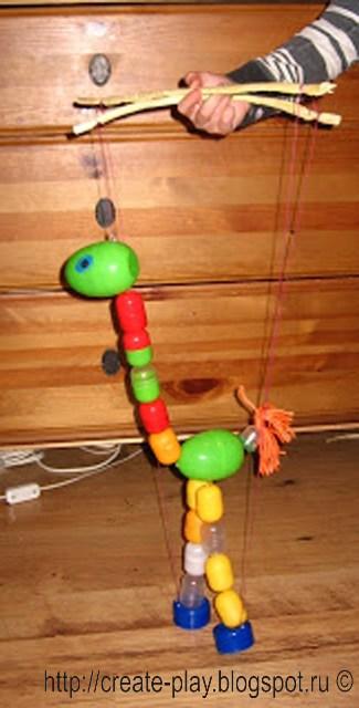 marionette of kinder-surprise
