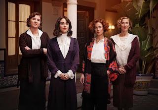 Mararena García, Patricia Lopez Arnaiz, Cecilia Freire y Ana Wagener en la serie 'La Otra Mirada'