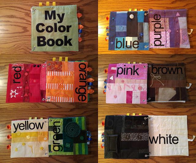 color quiet book