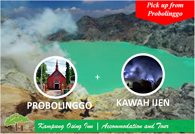 Kawah Ijen By Night Tour [ Pick  up from Probolinggo ]