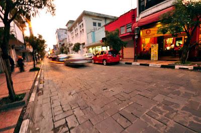 Jalan Modern Jalan Braga Bandung