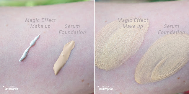 Alverde Serum Foundation, Magic Effect Makeup