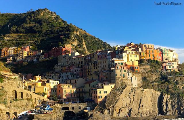 Village de Manarola, Cinque terre, Italie