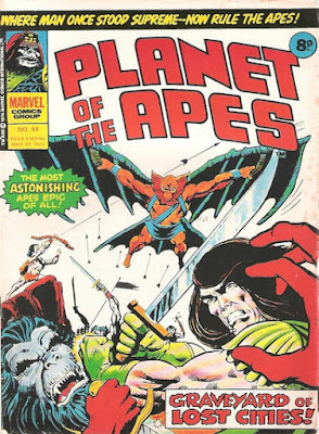 Marvel UK, Planet of the Apes #84