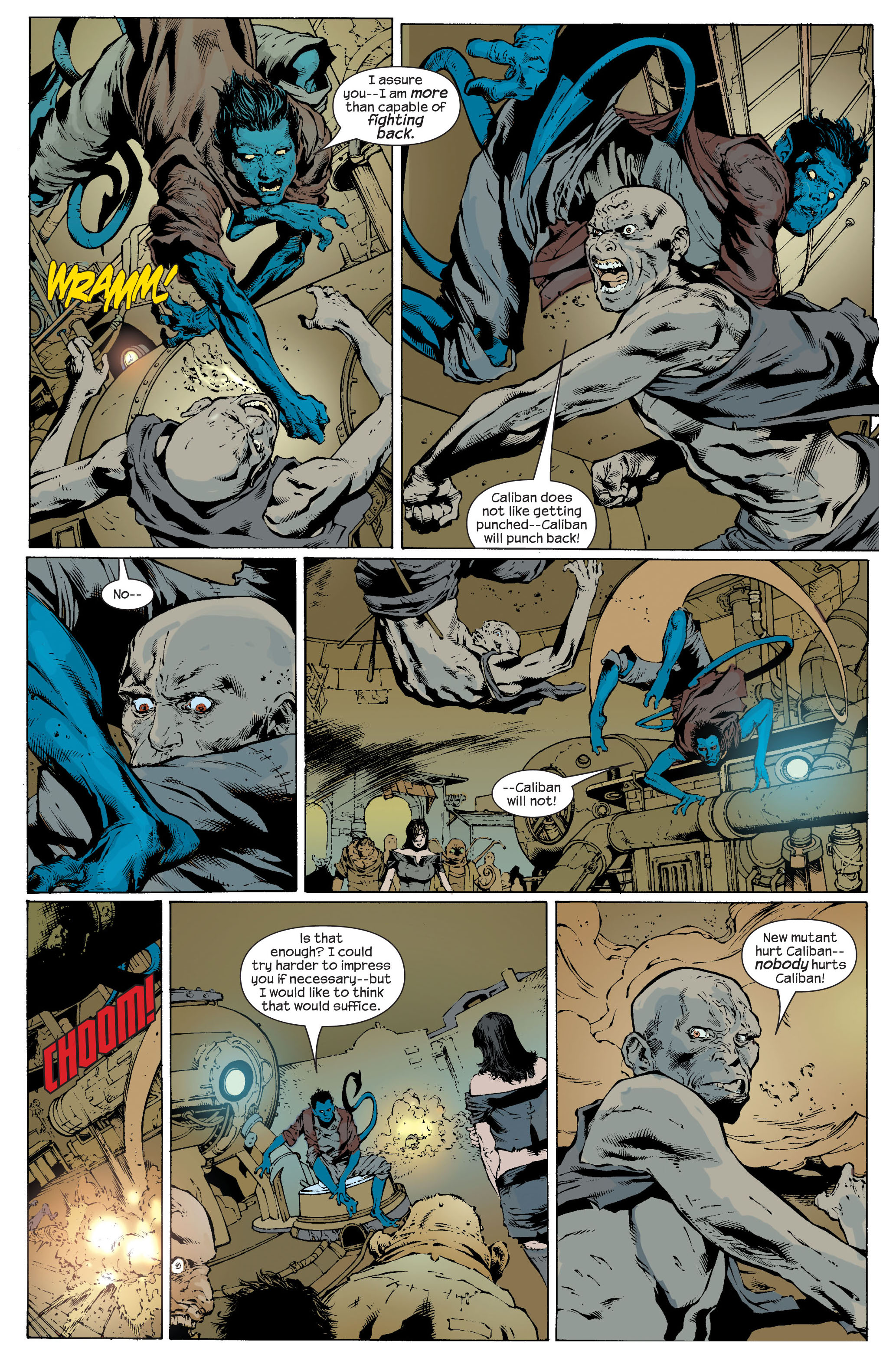Read online Ultimate X-Men comic -  Issue #82 - 5