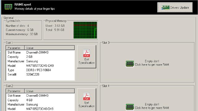 كيف تعرف الحد الأقصى للرامات التي يمكنك أن تضيفها إلى حاسوبك