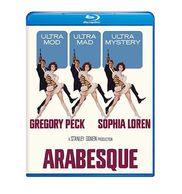 Arabesque 1966 Blu Ray